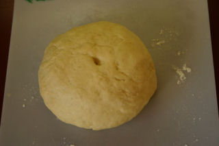 french twist after kneading